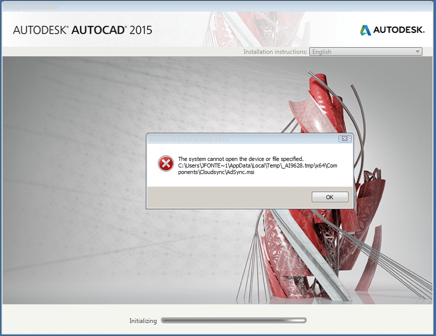 RE: How can I solve error message