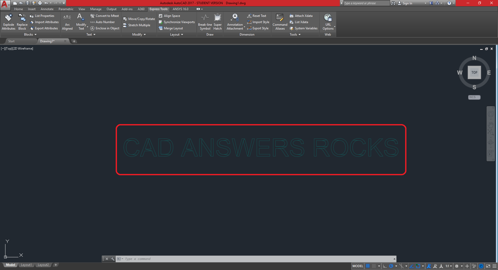How to convert AutoCAD TEXT to LINES « CAD Answers