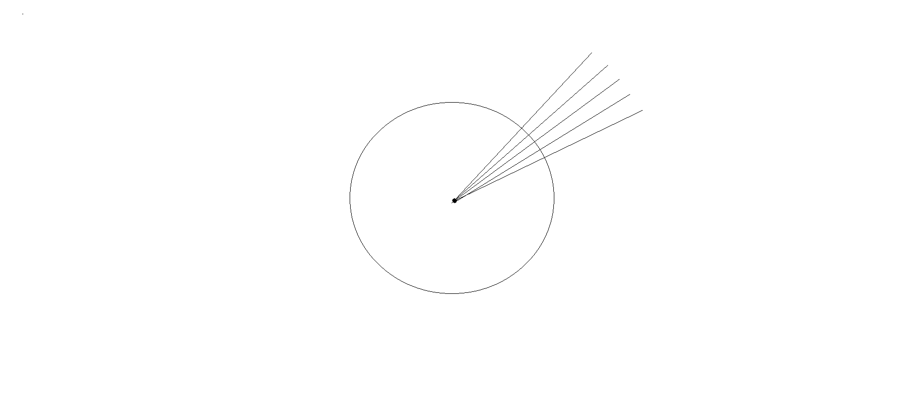 AutoCAD - How to measure and mark points on a curved line?